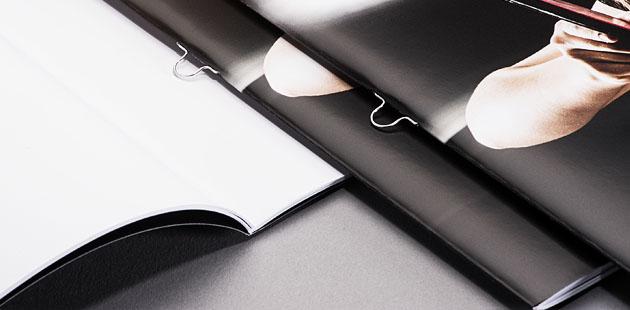 Ringösen-Broschüren ab 1St. (Digitaldruck)