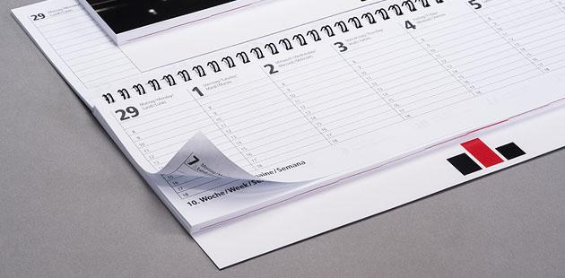 Tischquerkalender 2020