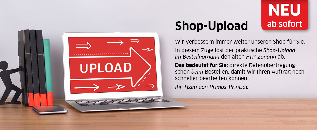 NEU: Shop-Upload