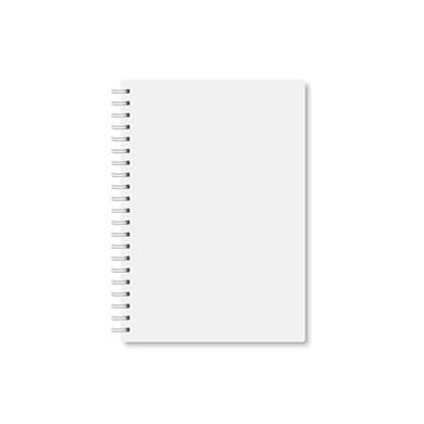 Wire-O-Broschüre im Hochformat