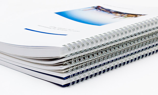 Beispiel Wire-O-Broschüren